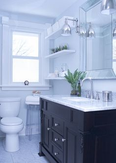 Get inspired to give your bathroom a makeover by taking a look at these before and after photos of gorgeous bathroom remodels.