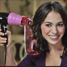 Wind Spin Hair Dryer Attachment Air Curler