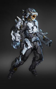 awesome armour model