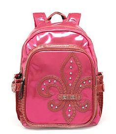 Miss Me Fleur-de-Lis Backpack  dc6fe0c126f02