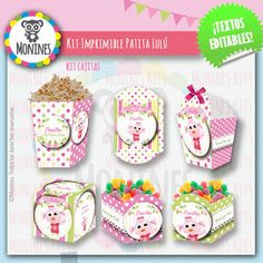 Patita Lulú Canciones Del Zoo | Monines Diseño Party Time, Kids, Food, Indiana, Chloe, Amy, Party Box, Birthday Party Themes, Themes For Parties