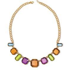 Holiday Party Collar Necklace | Avon GOLD  www.youravon.com/annecoddington/