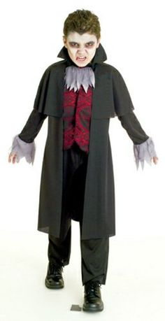 Halloween Costume Ideas - Paper Magic Group Transylvania Stalker - Medium 7-8. This awesome product currently 4 unit available, you can buy it now for $32.99 $16.19 and usually ships in 24 hours Halloween 2015, Halloween Birthday, Halloween Costumes For Kids, Dracula Costume, Vampire Costumes, Transylvania Dracula, Paper Magic, Family Costumes, Kids Playing
