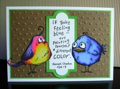 Bluebird by gregzgurl - Cards and Paper Crafts at Splitcoaststampers