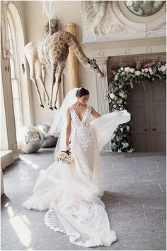 Gorgeous Berta wedding gown!
