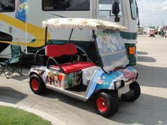 margaritaville golf cart, oh Pam...this is for you...just remember, dont drink and drive, lol!