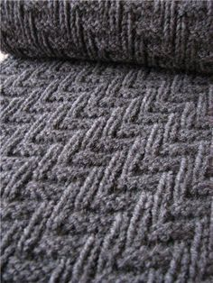 Here is an easy knitting pattern that is perfect for a man's scarf  (or a woman's too).       Here is the diagram:         Key   l = Knit   ...