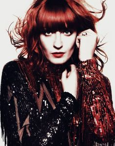 "Florence Welch - lead singer of ""Florence and the Machine"" - Sp/So 7w8"