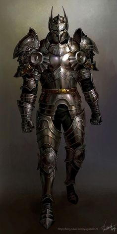 Knight by *GoddessMechanic. I really liked this one because of the gritty nature of it