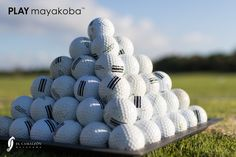 This morning, we are on the driving range. It's time to start warming up before we #PLAYmayakoba… -- at Mayakoba Golf Course, El Camaleón.