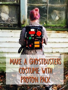 diy costumes Ghostbusters costume tutorial with jumpsuit and proton pack. Try this Ghostbusters costume tutorial for Halloween or your next costume party.