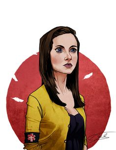 This is a portrait of Annie Edison from my favorite show ^^ community! Infact she's my second favorite character, simply because she manages to be both . Annie Community, Community Series, Community Tv Show, Community College, Community Art, Edison Fan, Tv Times, Geek Art, That Way