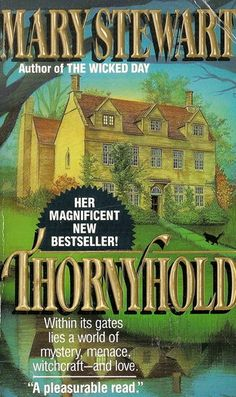 Thornyhold: Mary Stewart, Meg Cabot: 9781556527937: Mystery Books, Pulp Fiction, Book Stuff, Romance Books, Cover Art, Authors, Books To Read, Gothic, Mary