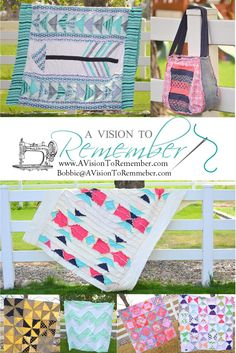 A Vision to Remember Destash Sale for Quilts, Aprons, Patterns, and Fabric