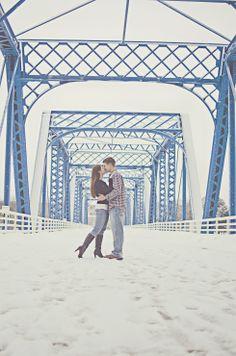 Winter engagement session // Grand Rapids, Michigan