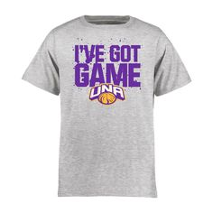 North Alabama Lions Youth Got Game T-Shirt - Ash - $17.99