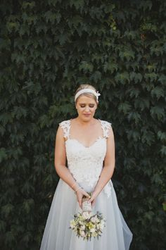 Caleche Bride Emma In Her Gorgeous Wedding Gown Made By Bridal House South Australia