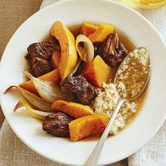 How about a toasty Pot Roast Stew for dinner tonight? Forty slow cooker soups and stews: http://www.bhg.com/recipes/slow-cooker/soup-chili/hearty-slow-cooker-soups-stews/?socsrc=bhgpin110212potroaststew#page=28