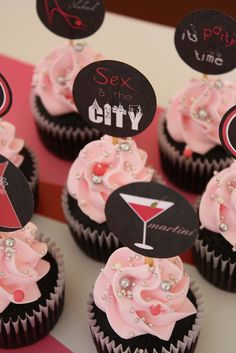 Sex in the City theme - cute idea for a bachelorette party