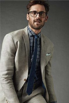Pro Basketball Player: Kevin Love models for Banana Republic: Suits