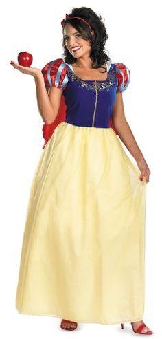 Disguise Womens Disney Snow White Deluxe Costume YellowRedBlue XXLarge >>> ** AMAZON BEST BUY **  #DisneyCostumes