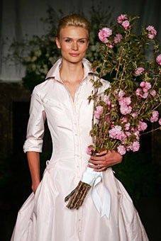 I Am So In Love With Shirt Dress Wedding Dresses