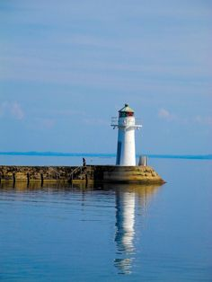 Lighthouse at Hjo by Ray  Lakeland, via 500px