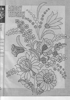 Grand Sewing Embroidery Designs At Home Ideas. Beauteous Finished Sewing Embroidery Designs At Home Ideas. Jacobean Embroidery, Hungarian Embroidery, Embroidery Transfers, Learn Embroidery, Crewel Embroidery, Hand Embroidery Patterns, Machine Embroidery, Embroidery Designs, Chain Stitch Embroidery