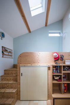 スクエア4: Studio REI 一級建築士事務所が手掛けた子供部屋です。