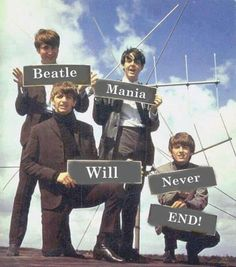 The fact that they broke up Beatlemania into two sections and gave two words to…