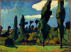 ANDRÉ DERAIN (1880-1954) - PAYSAGE AUX ENVIRONS DE CHATOU