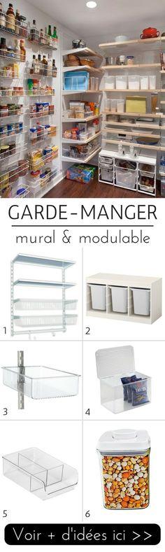 Garde-manger mural modulable http://www.homelisty.com/idees-garde-manger/