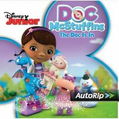 Doc McStuffins Theme Song lyrics: The Doc is in and She'll fix you up. if your a toy then your in luck. it's ok don't be afraid the Doc really knows her stuff. Doo Doo Doo you know it's good for you The doc is gonna help Disney Junior, Disney Jr, Disney Divas, Disney Music, Disney Movies, Birthday Favors, 5th Birthday, Birthday Ideas, Frozen Birthday