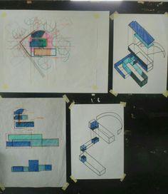 Dhanendra Prathama   Koshino House Diagram   Overlaying Geometry   Kelompok 2A Koshino House, Water Temple, Tadao Ando, Geometry, Architecture Design, Diagram, How To Plan, Sketch, Inspiration
