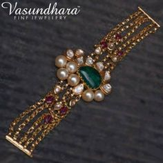 Hand Jewelry, India Jewelry, Bracelet Designs, Necklace Designs, Gold Jewellery Design, Jewelry Patterns, Bridal Jewelry, Fashion Jewelry, Beaded Bracelets