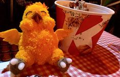 Fat Chocobo by ChocoPomCreations on Etsy
