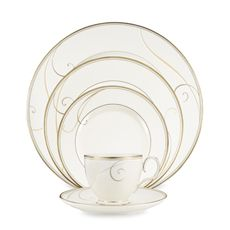 Noritake® Golden Wave Dinnerware - Bed Bath & Beyond