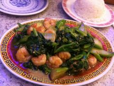 Chinese Shrimp with Broccoli ♥