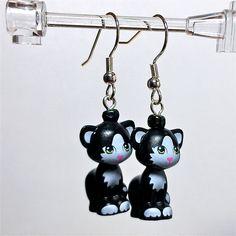 LEGO Friends Cat Earrings