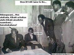 The Evolution of Power in Kenya