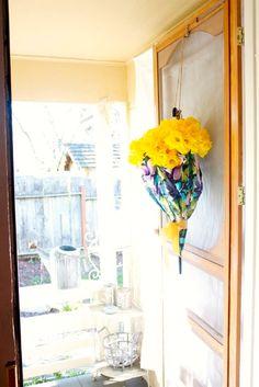 Umbrella Wreath Tuto