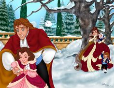 Belle and Adam after the Happily Ever After. *le sigh*