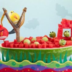 Angry Birds Watermelon Boat @Kerry Dilks @Michelle Huff @Christina Huff @Sara Huff @Sheila James