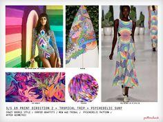 Spring/Summer 2016 Collection – 3 x Print Trend Report Bundle | Patternbank