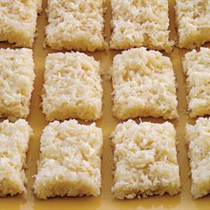 Haresch a Traditional  Middle Eastern Coconut Cake