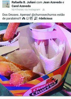 Embalagem churros espanhol