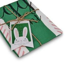 Top 40 Non-Chocolate Easter Gifts via We-Are-Scout. We Are Scout | HUNTING. GATHERING. MAKING. THE GOOD STUFF. #Bunny #EasterBunny #BunnyTeaTowel #Rabbit #EasterGifts