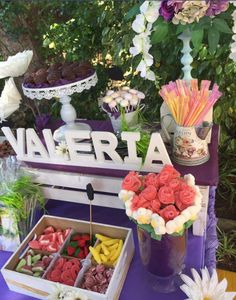 Table Decorations, Birthday, Home Decor, Manualidades, Candy Stations, First Holy Communion, Names, Board, Fiestas