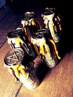 Witch Bottle Battery Money Drawing: Alleged to attract money and bring prosperity to your home.