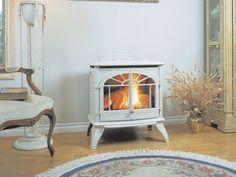 ventless gas fireplace – Marjorie B. Davis Home Ventless Natural Gas Fireplace, Gas Stove Fireplace, Corner Gas Fireplace, Brick Fireplace Makeover, Freestanding Fireplace, Modern Fireplace, Fireplace Ideas, Wall Fireplaces, Basement Fireplace